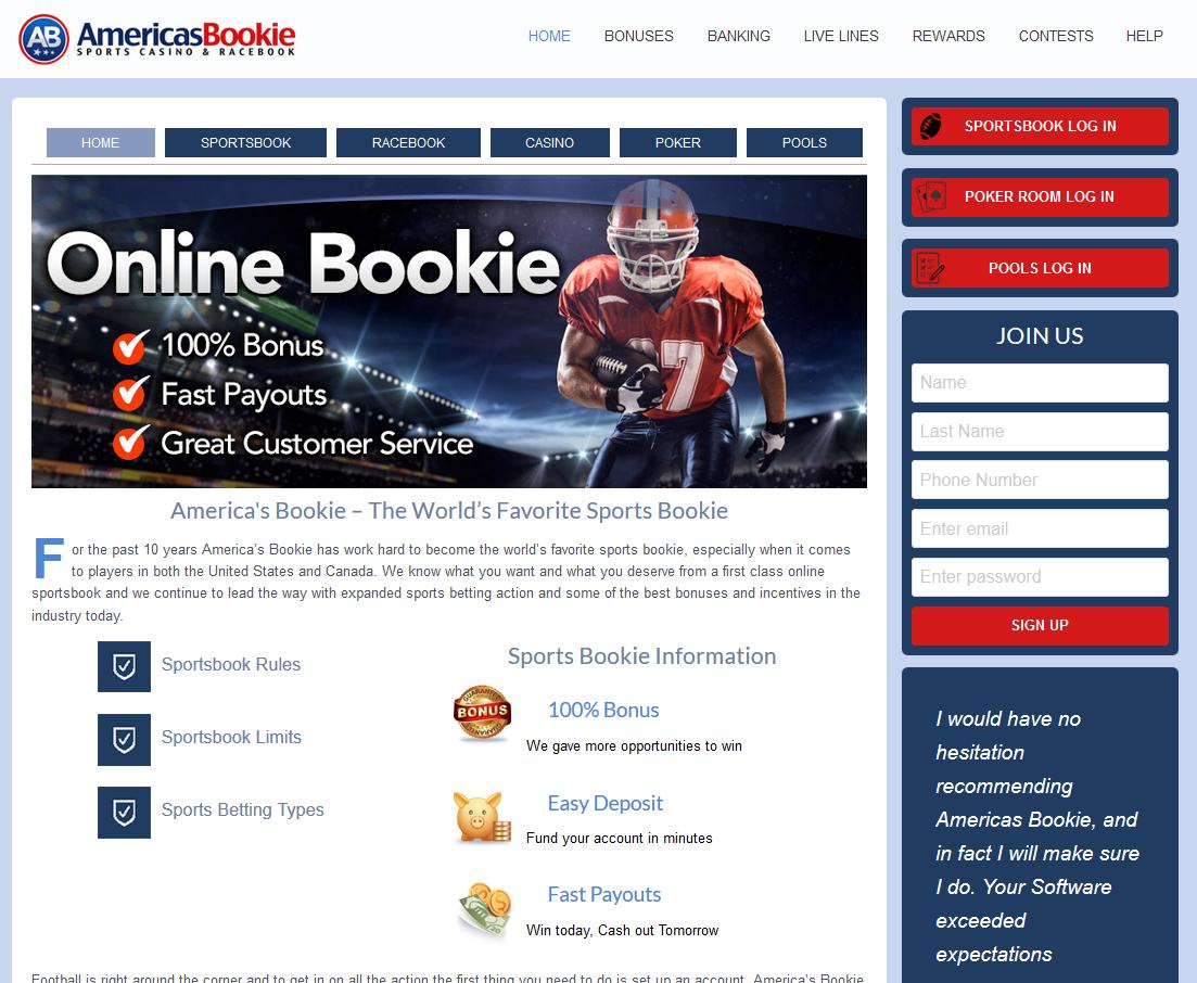 Online Bookie